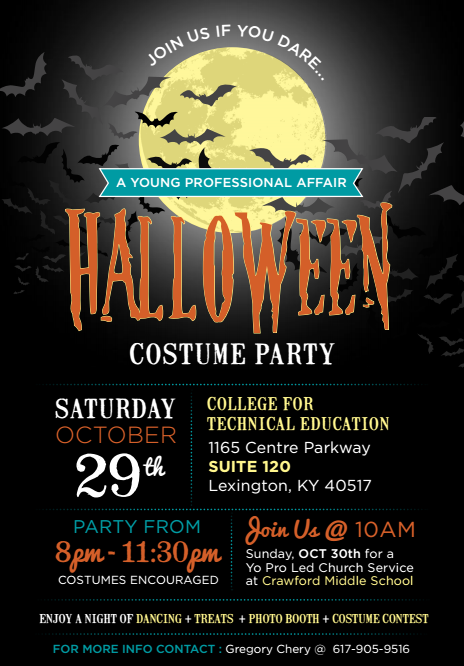 lexington ky young professionals costume party
