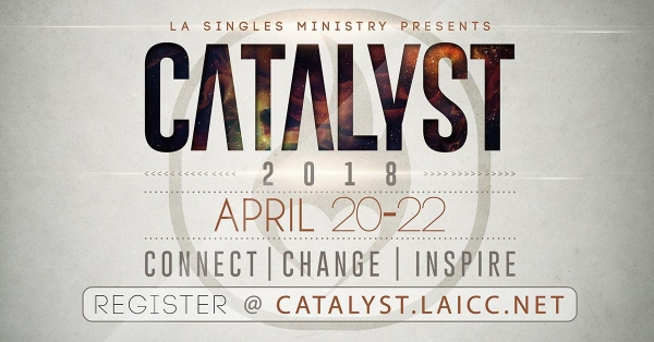Catalyst Conference in San Diego April 20-22