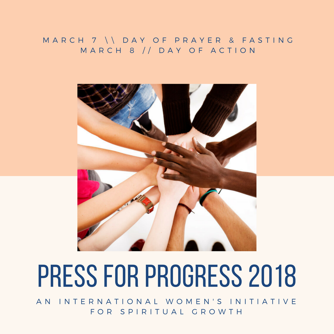 Press for Progress—International Women's Day